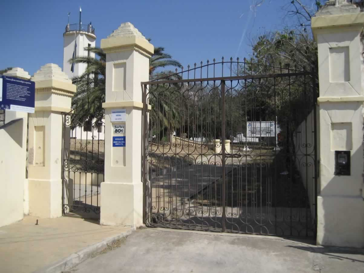 Año 2008 Puerta de acceso sobre calle San Luis